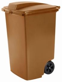 Curver Waste Bin 100L Brown