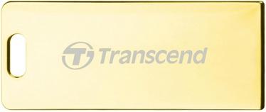 USB atmintinė Transcend Jet Flash T3G Gold, USB 2.0, 8 GB