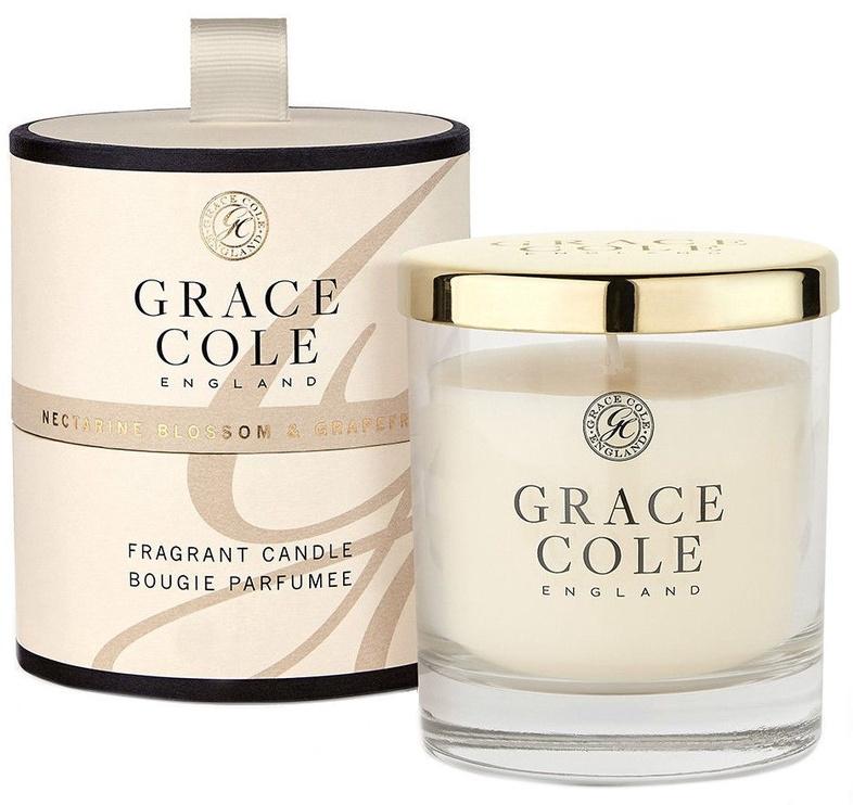 Grace Cole Fragrant Candle 200g Nectarine Blossom & Grapefruit