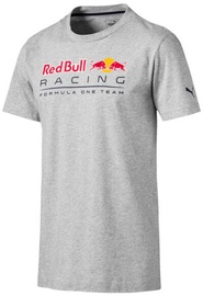 Puma Red Bull Racing Logo T-Shirt 595370-02 Grey M