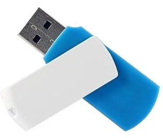 USB atmintinė Goodram Colour White/Blue, USB 2.0, 16 GB