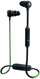 Ausinės Razer Hammerhead Bluetooth Black/Green, belaidės