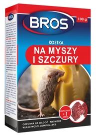 Pelių ir žiurkių naikinimo kubeliai Bros, 100 g