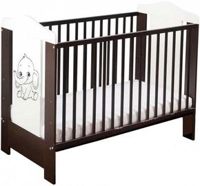 Minikid Ella Baby Bed 109 Venge/White Elephant