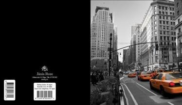 Jānis Roze Notebook A5 JR8 60 Pages NY Taxi