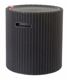 Keter Cool Stool Storage Box Table Brown