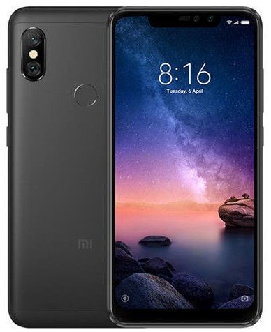 Xiaomi Redmi Note 6 Pro 4/64GB Dual Black