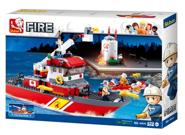 Sluban Fire Boat 429pcs M38-B0630