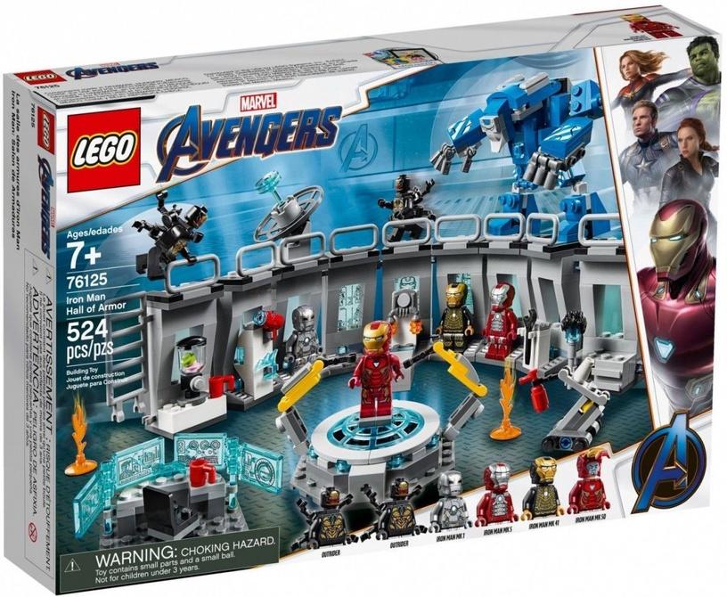 Konstruktor LEGO Marvel Avengers Iron Man Hall Of Armor 76125