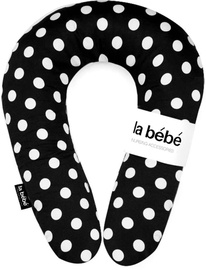 La Bebe Nursing Maternity Pillow Snug 20x70 Black Dots 111346