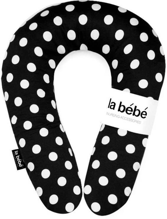 La Bebe Nursing Maternity Pillow Snug 20x70 Black Dots 111346