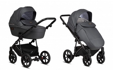 Tutis Stroller Viva Life 2in1 Leather Shadow Grey