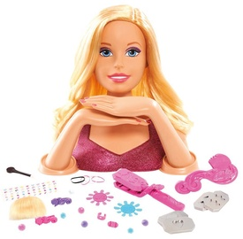 Just Play Barbie Crimp & Color Deluxe Styling Head 61680