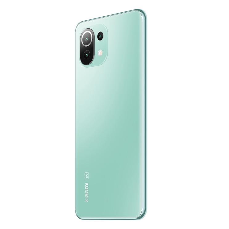 Мобильный телефон Xiaomi Mi 11 Lite 5G, зеленый, 6GB/128GB