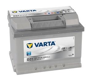 Akumuliatorius Varta SD D21, 61 Ah, 600 A, 12 V