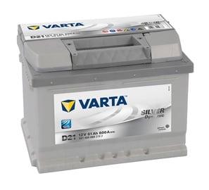Akumuliatorius Varta SD D21, 12 V, 61 Ah, 600 A