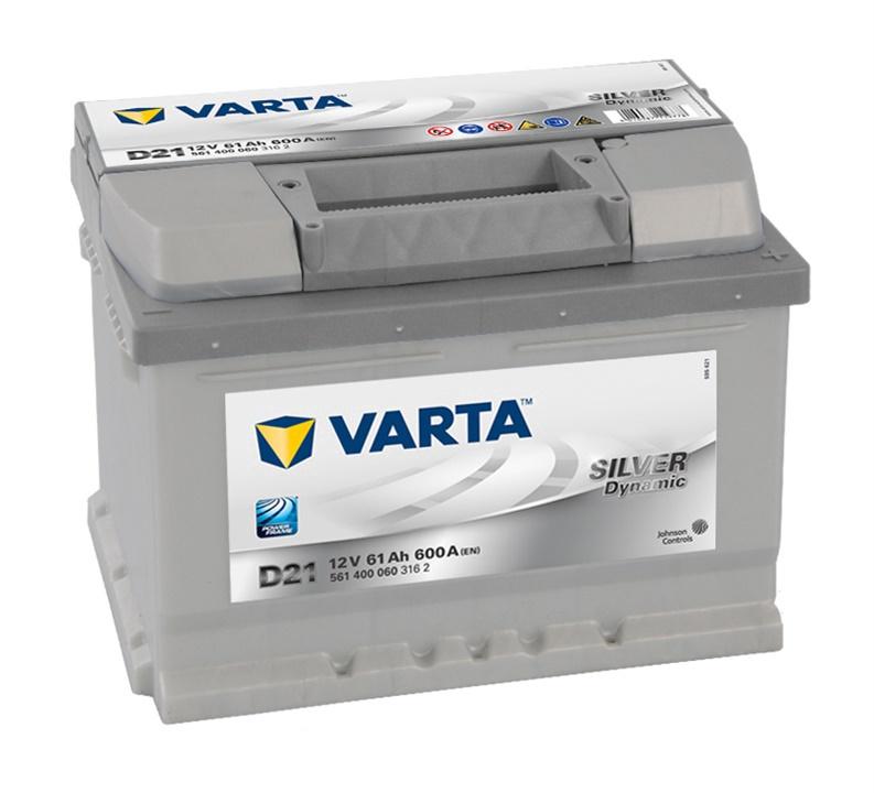 Аккумулятор Varta SD D21, 12 В, 61 Ач, 600 а