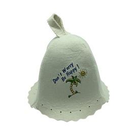Flammifera Bathhouse Hat with Palm