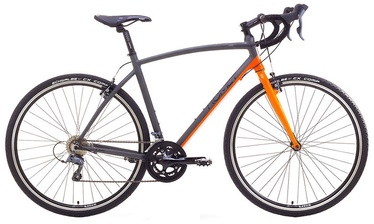 "Dviratis Romet Mistral 19"" 28"" Grey Orange 17"