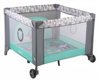Lionelo Sofie Baby Bed And Playpen Turquoise