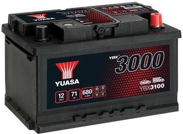 Аккумулятор Yuasa, 12 В, 71 Ач, 680 а
