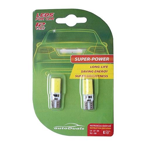 Автомобильная лампочка AutoDuals CB70891, LED, белый, 12 В