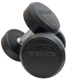 TKO Rubber Dumbbells Pro 2x10kg