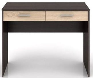 Black Red White Nepo Plus Desk Wenge/Sonoma Oak