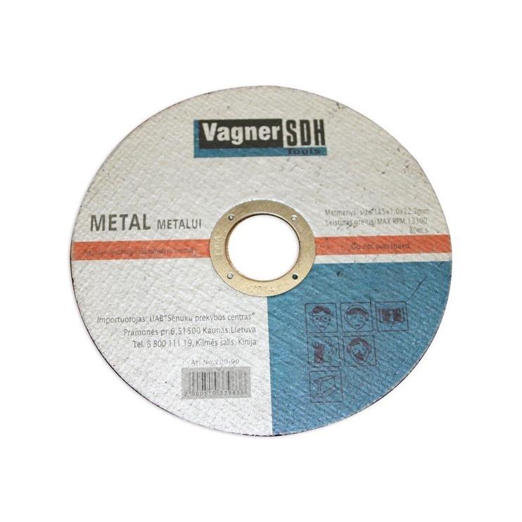 Šlifavimo diskas Vagner SDH, 125x6x22.23 mm