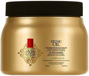L´Oreal Professionnel Mythic Oil Rich Masque Thick Hair 500ml