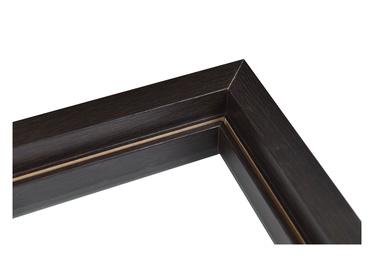 Durų stakta Everhouse, horizontalioji, juoda, 44 x 885 x 90 mm