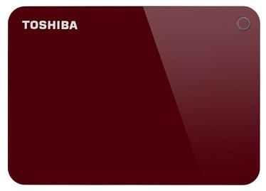 "Toshiba Canvio Advance 2.5"" 1TB USB 3.0 Red"