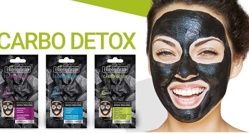 Bielenda Carbo Detox Purifying Mask 8g Dry & Sensitive Skin