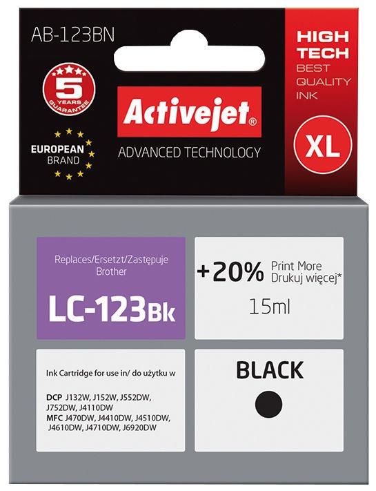 ActiveJet Cartridge AB-123BN 15ml Black