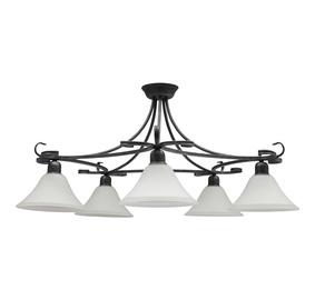 Griestu lampa Nowodvorski Flores 3528 5x60W E27 41x81cm