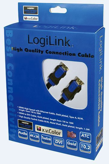LogiLink Cable HDMI to HDMI Black 5m