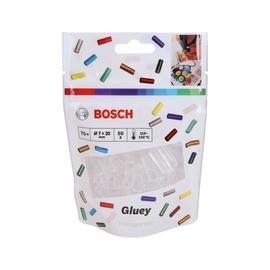Klijų strypeliai Bosch Green Gluey, bespalviai, 70 vnt.