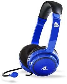 4Gamers PRO4-40 Stereo Gaming Headset Wired Blue