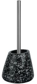 Spirella Toilet Brush Etna Glitter Black