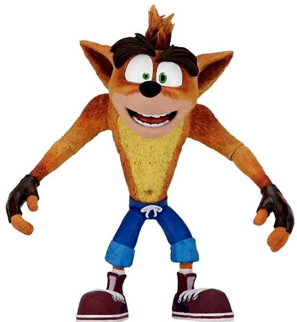 Neca Crash Bandicoot Action