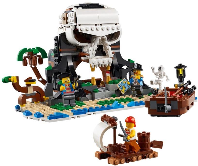 Конструктор LEGO® Creator 31109 Пиратский корабль