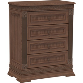 MN Chest Of Drawers K1 80 Dark Brown