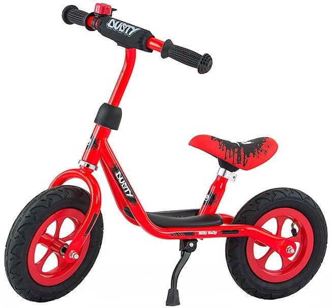 Balansinis dviratis Milly Mally Dusty 10'' Red 3272