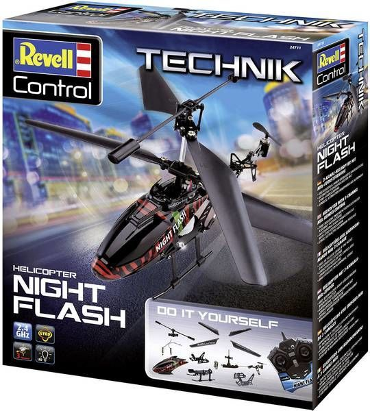 Revell RC Technik Night Flash Helicopter