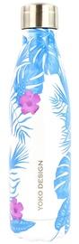 Yoko Design Isothermal Bottle 0.5l Tropical Blue