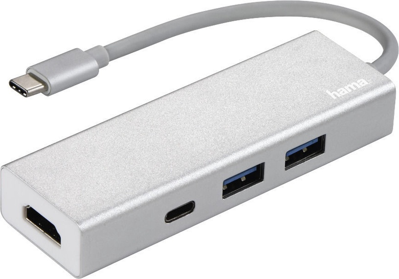 USB-разветвитель (USB-hub) Hama USB-3.1 Type-C Hub 135756