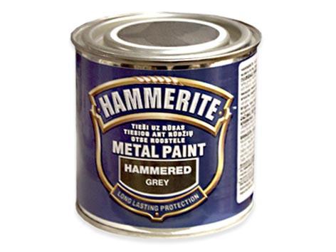 Krāsa Hammerite pelēks āmurkalums 250ml