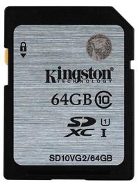 Kingston 64GB SDXC UHS-I Flash Card Class 10