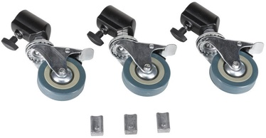 Quadralite Additional Wheels for Studio Tripods