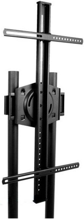 Techly Mobile Stand For TV LCD/LED/Plasma 37''-70'' Black